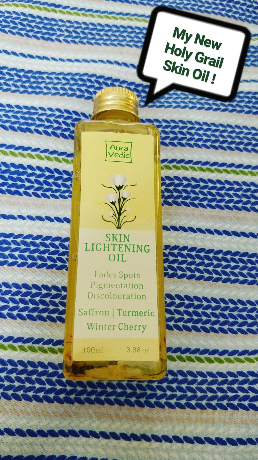 Ayravedic Skin Lightening Oil Review