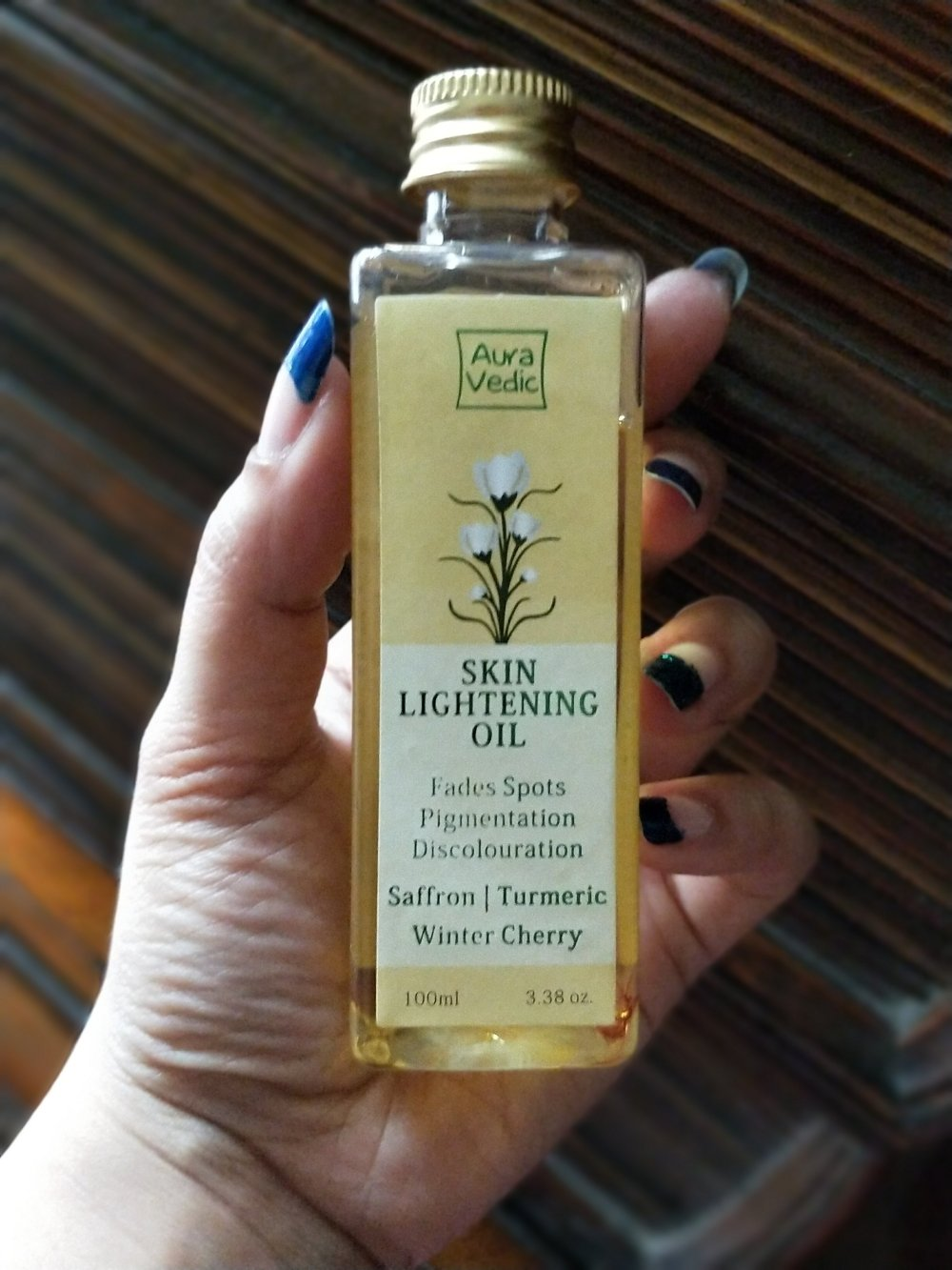 AuraVedic Beauty Skin Lightening Oil Review