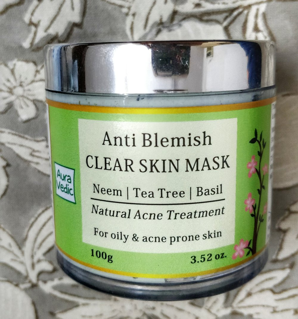 AuraVedic Anti Blemish Face Mask Review