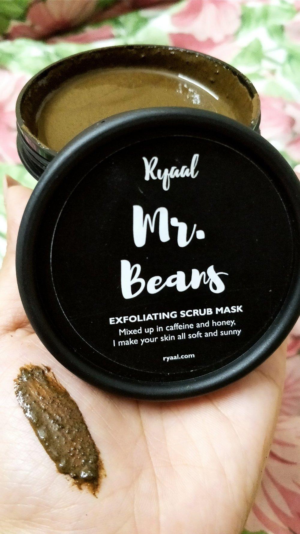 Ryaal Mr. Beans Coffee Scrub